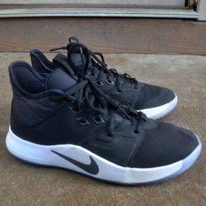 Nike Paul George PG3 Pg 3 Black / White